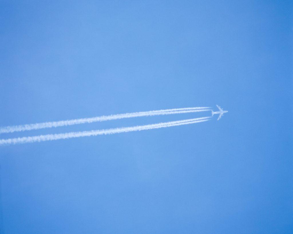 Contaminación por estelas de aviones. Omawa.es