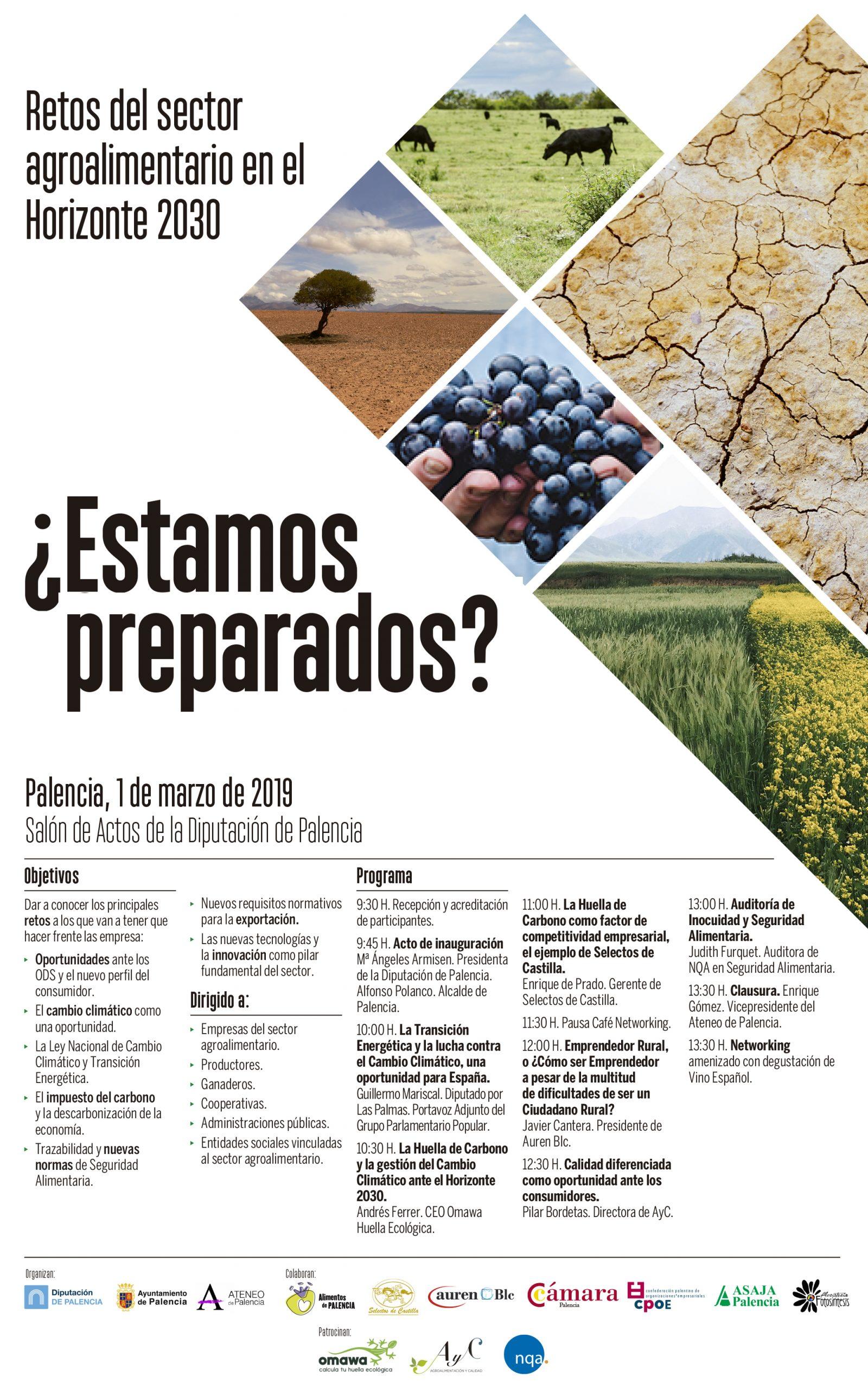 Jornada para abordar los retos del sector agroalimentario