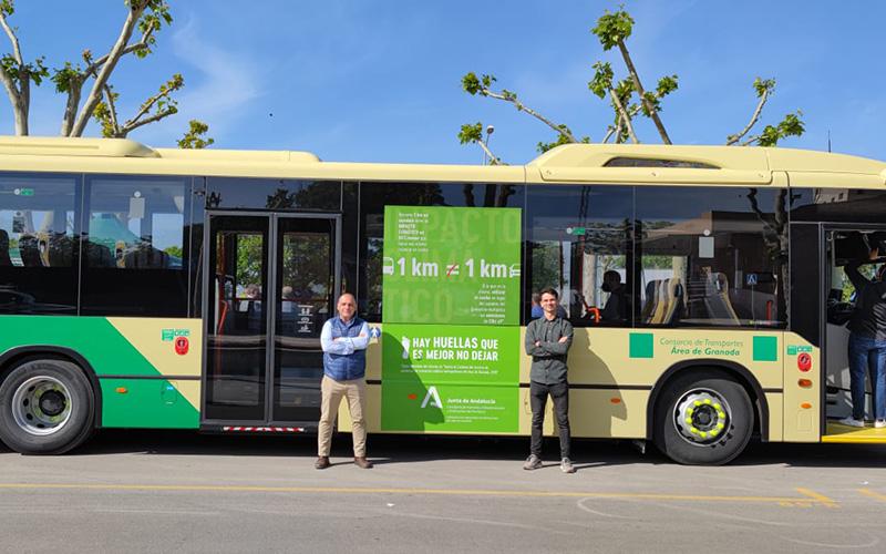 El Consorcio de Transportes de Granada reduce sus emisiones